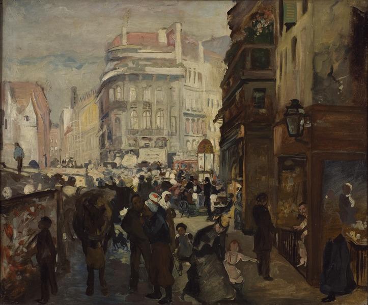 Adolf von Menzel: Vardag i Paris. NM 1847